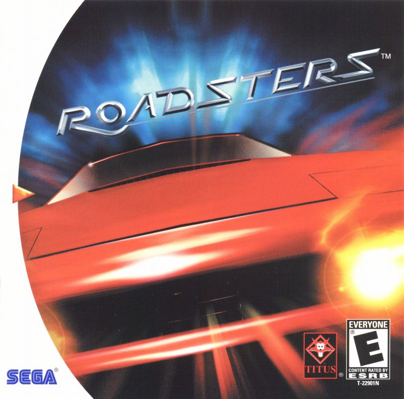 Roadsters Dreamcast Front Cover