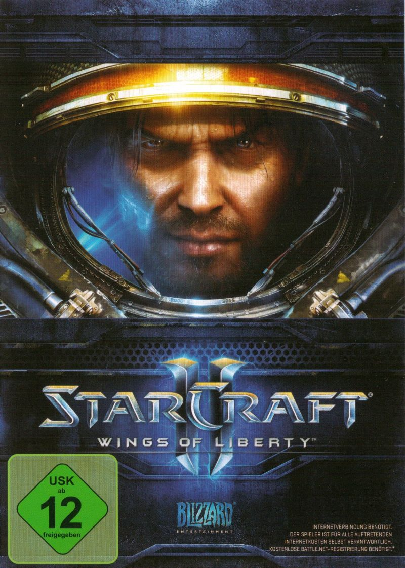 StarCraft II: Wings of Liberty Macintosh Front Cover