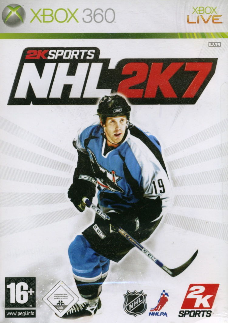 NHL 2K7 Xbox 360 Front Cover