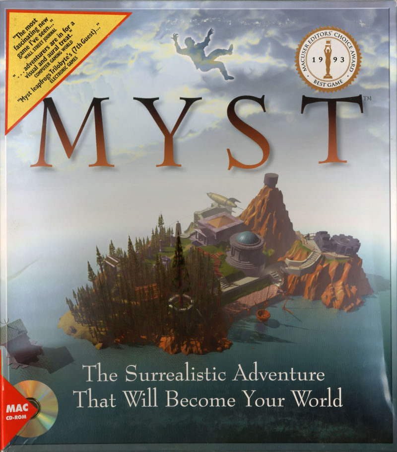Myst Macintosh Front Cover