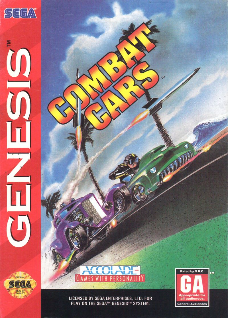 Combat Cars Genesis Front Cover
