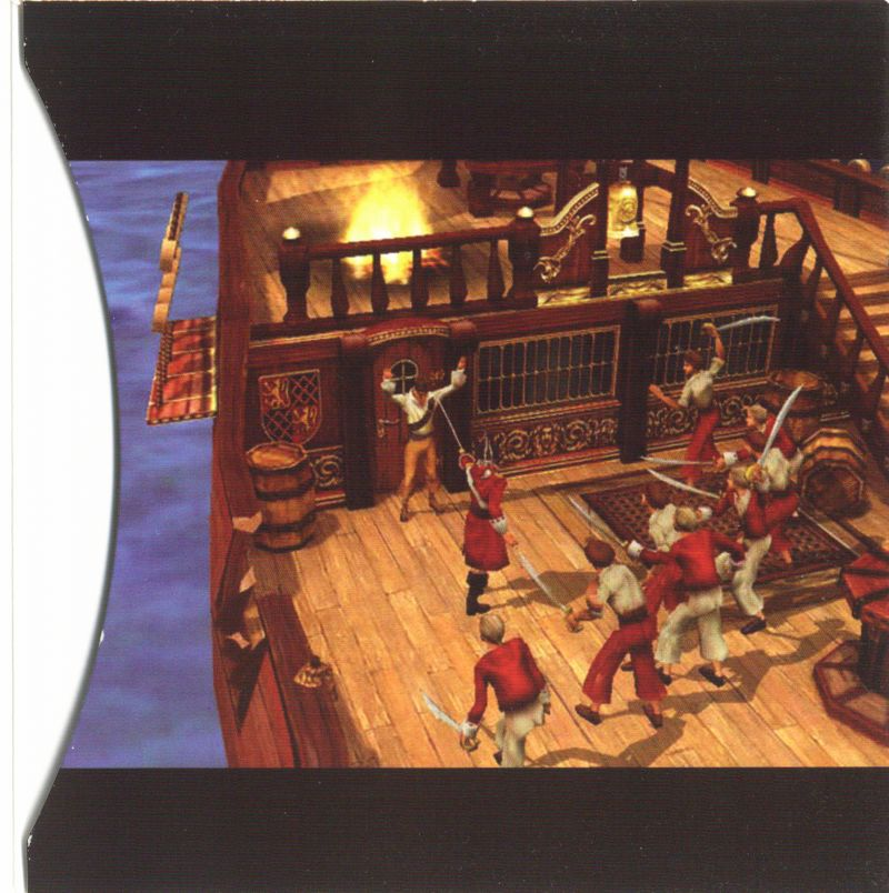 Sid Meier's Pirates! Windows Other Sleeve - Inside Right