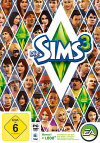 The Sims 3 Windows Front Cover