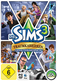 The Sims 3: Ambitions Windows Front Cover