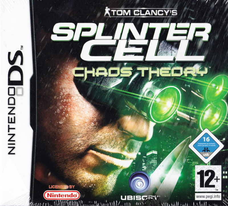 Tom Clancy's Splinter Cell: Chaos Theory Nintendo DS Front Cover