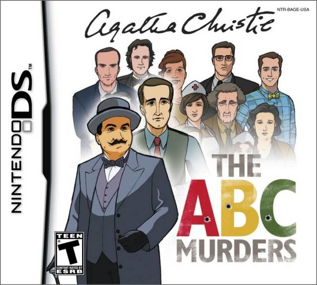 Agatha Christie: The ABC Murders Nintendo DS Front Cover