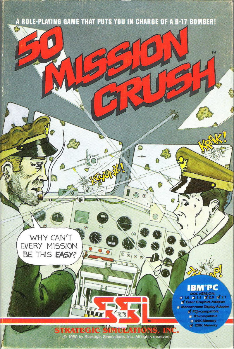 50 Mission Crush DOS Front Cover