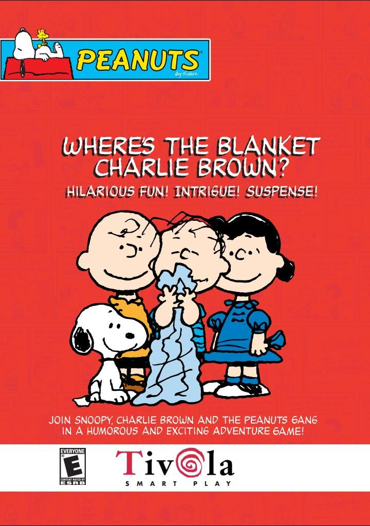Where's the Blanket Charlie Brown? Windows Front Cover