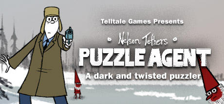 Nelson Tethers: Puzzle Agent Macintosh Front Cover