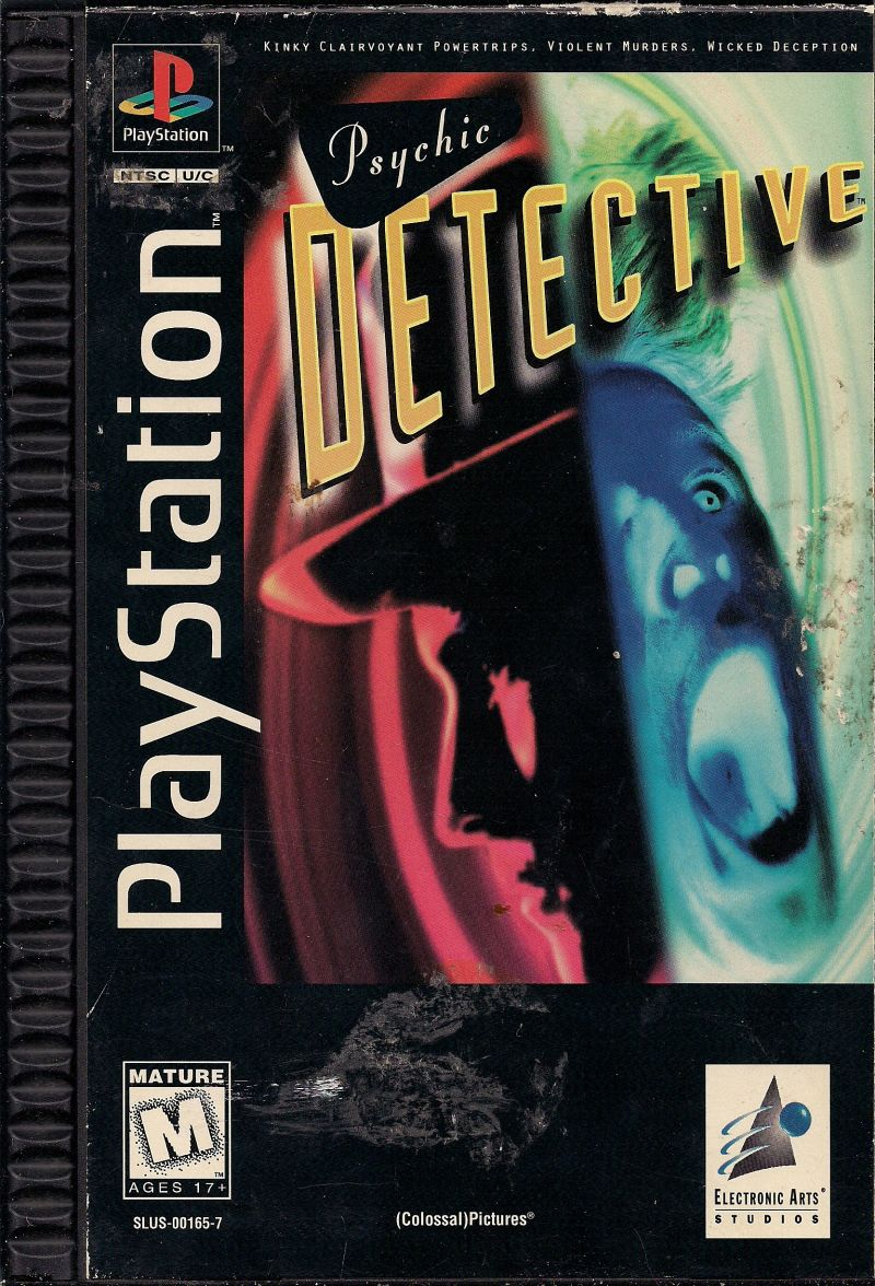Psychic Detective PlayStation Front Cover