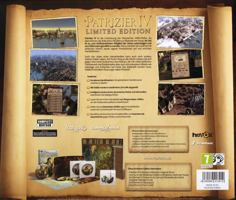 Patrizier IV (Limited Edition) Windows Back Cover