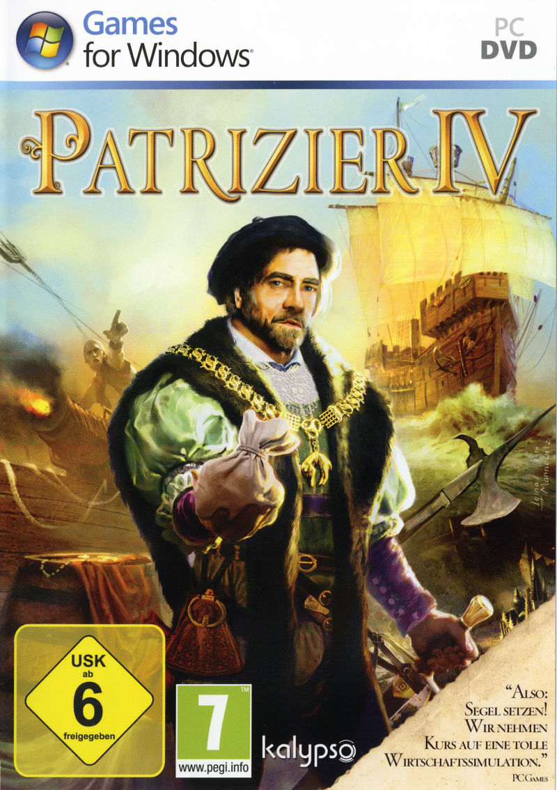 Patrizier IV (Limited Edition) Windows Other Keep Case - Front