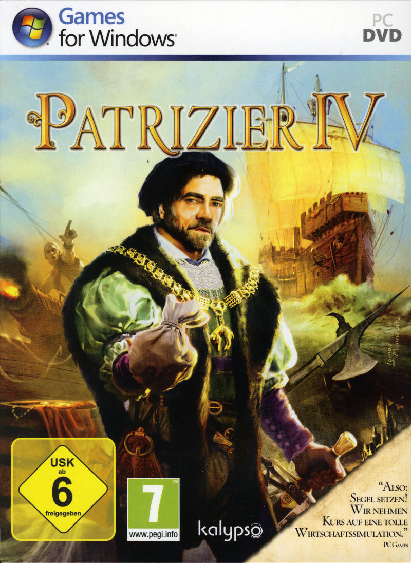 Patrizier IV (Limited Edition) Windows Other Slipcase - Front