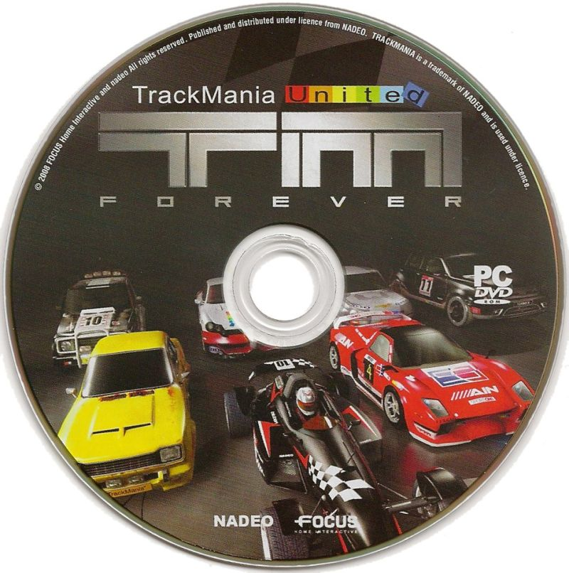TrackMania United Forever (Limited Edition) Windows Media