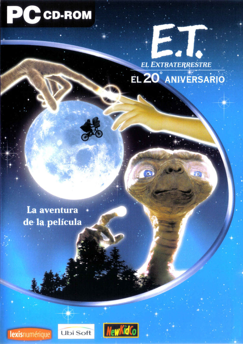 E.T.: Phone Home Adventure Windows Front Cover