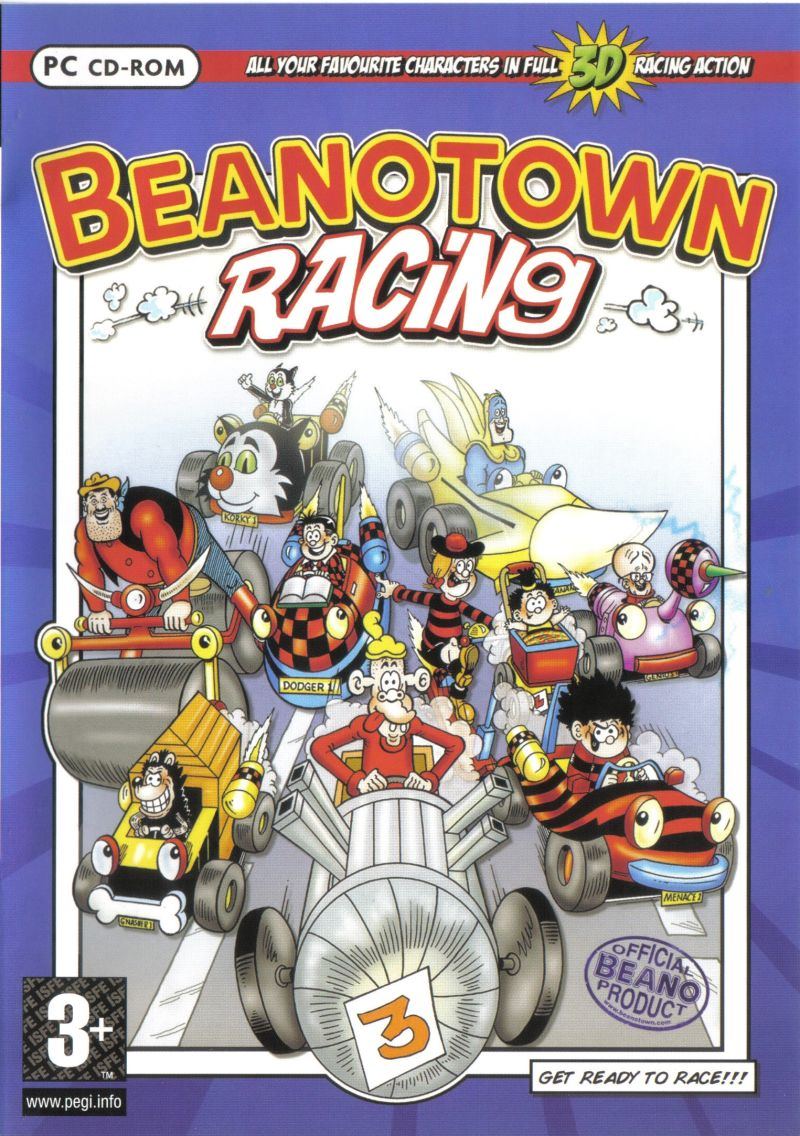 Beanotown Racing Windows Front Cover