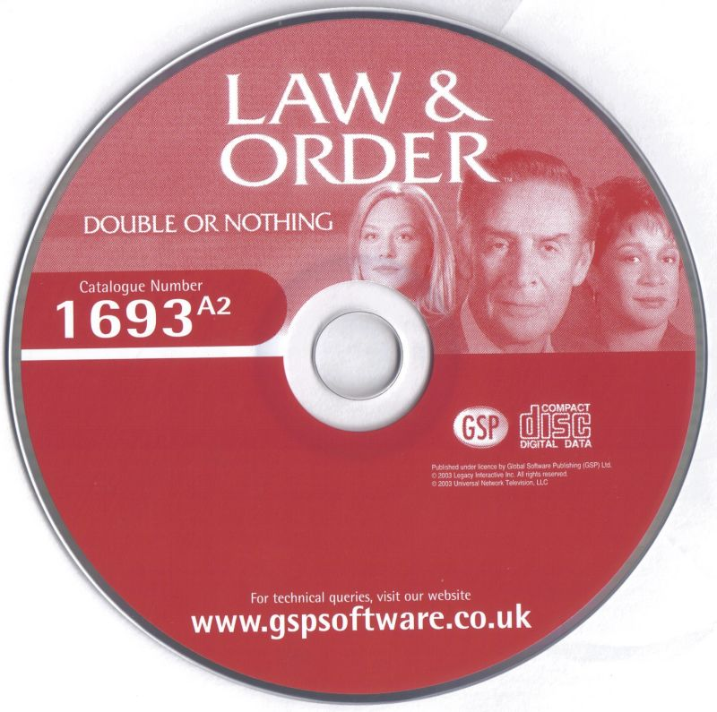 Law & Order II: Double or Nothing Windows Media Disc 2/2