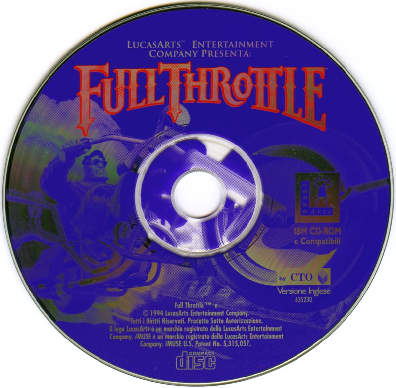 Full Throttle DOS Media