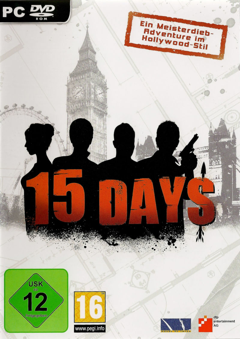 15 Days Windows Other Keep Case - Front