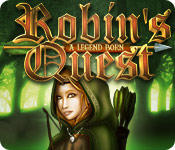 Robin's Quest: A Legend Born Macintosh Front Cover