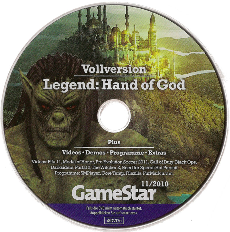 Legend: Hand of God Windows Media