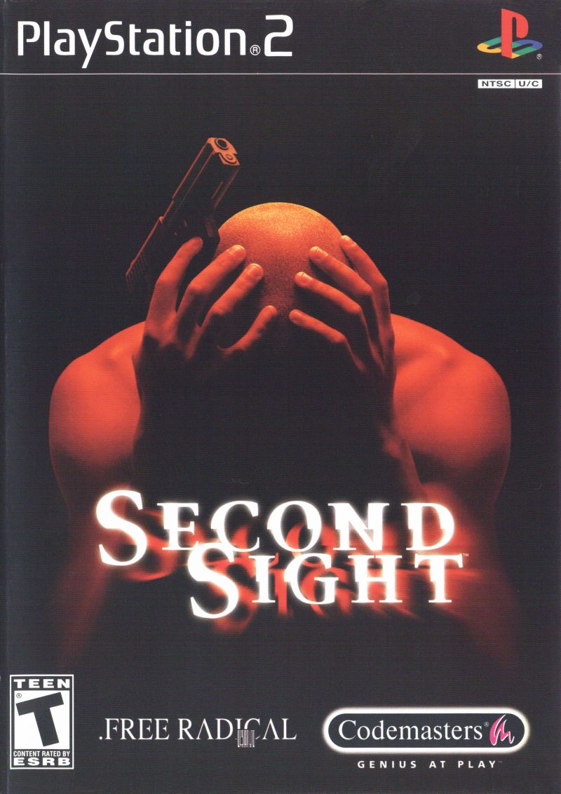 Second Sight PlayStation 2 Front Cover