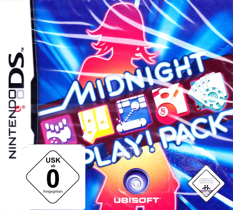 Midnight Play! Pack Nintendo DS Front Cover
