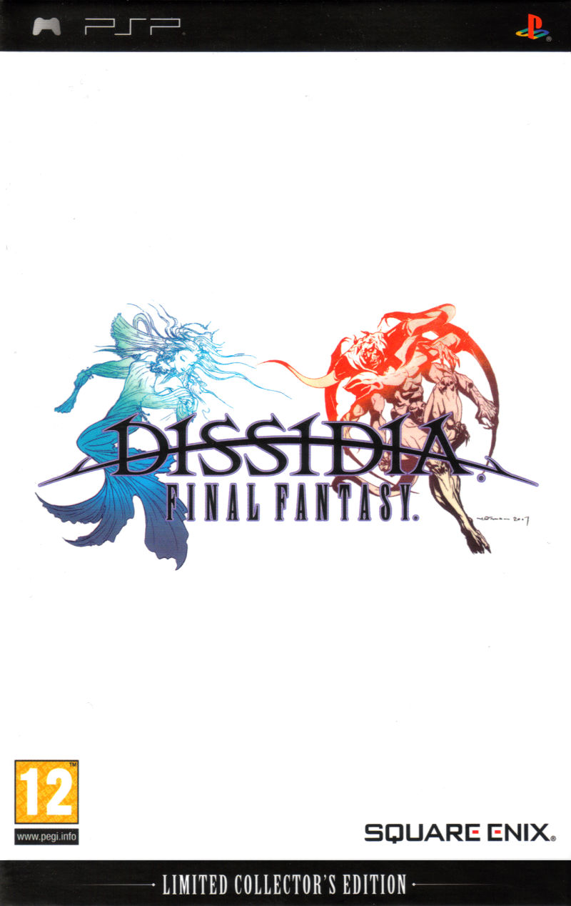 Dissidia: Final Fantasy (Limited Collector's Edition) PSP Front Cover