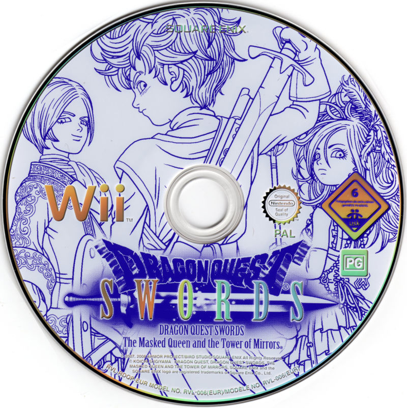 Dragon Quest Swords: The Masked Queen and the Tower of Mirrors Wii Media