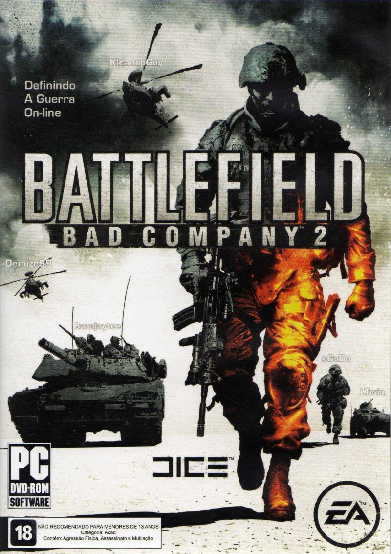 Battlefield: Bad Company 2 Windows Front Cover