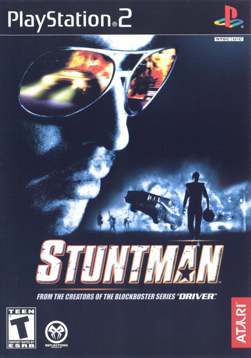 Stuntman PlayStation 2 Front Cover