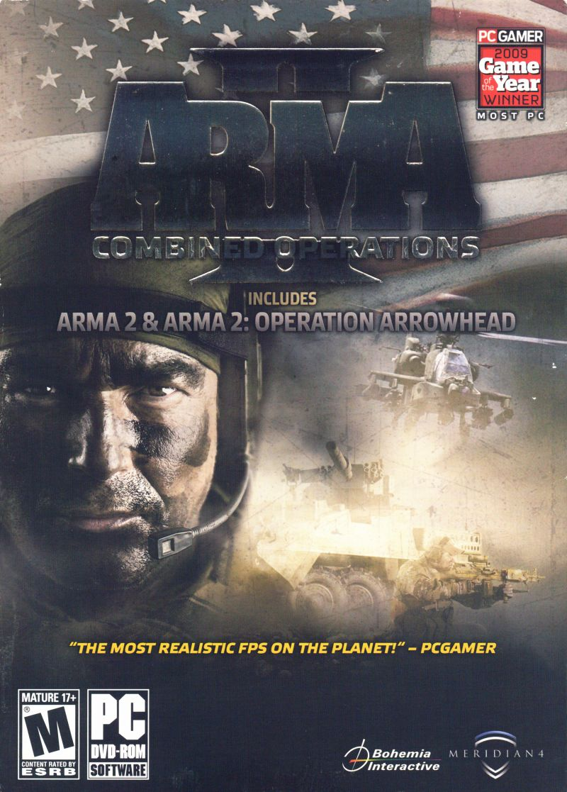 ArmA II: Combined Operations Windows Front Cover