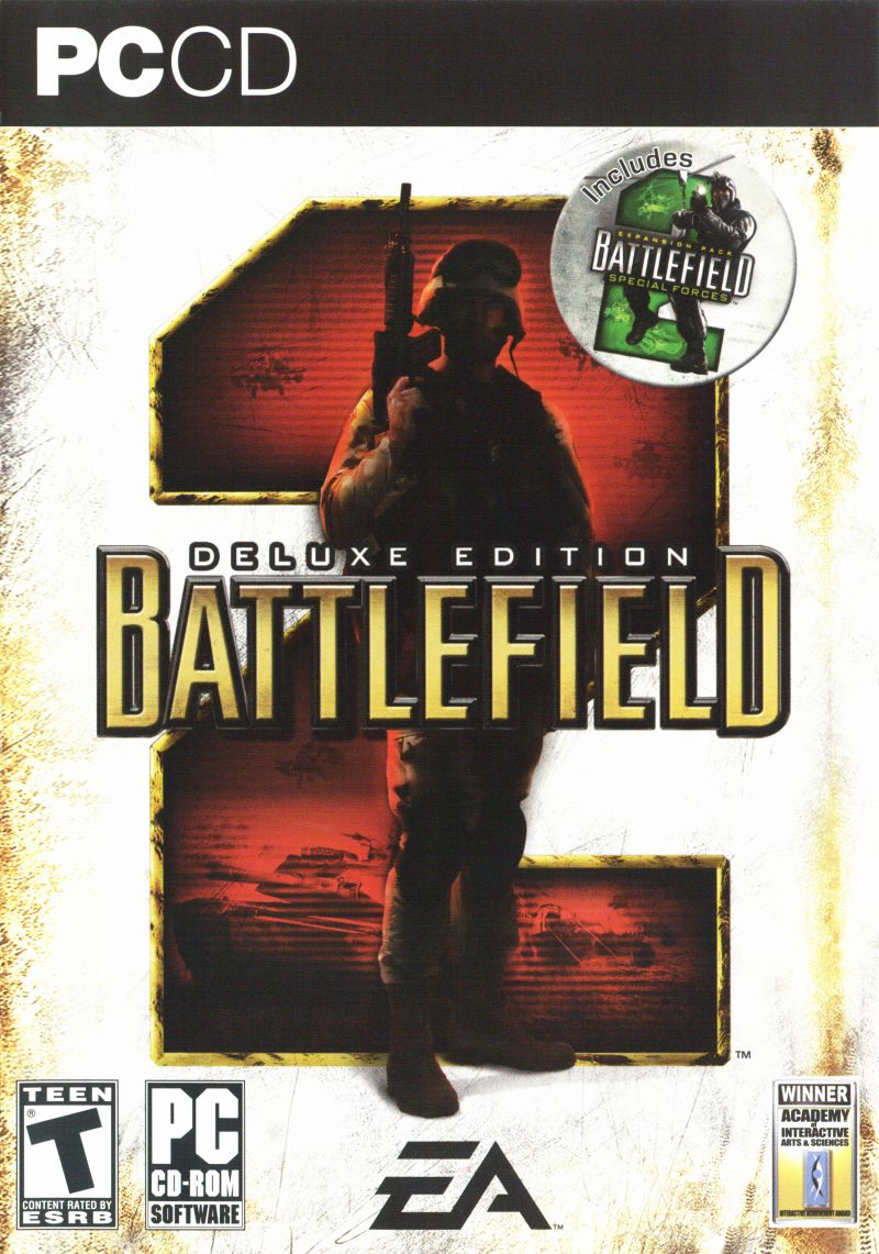 Battlefield 2 (Deluxe Edition) Windows Front Cover