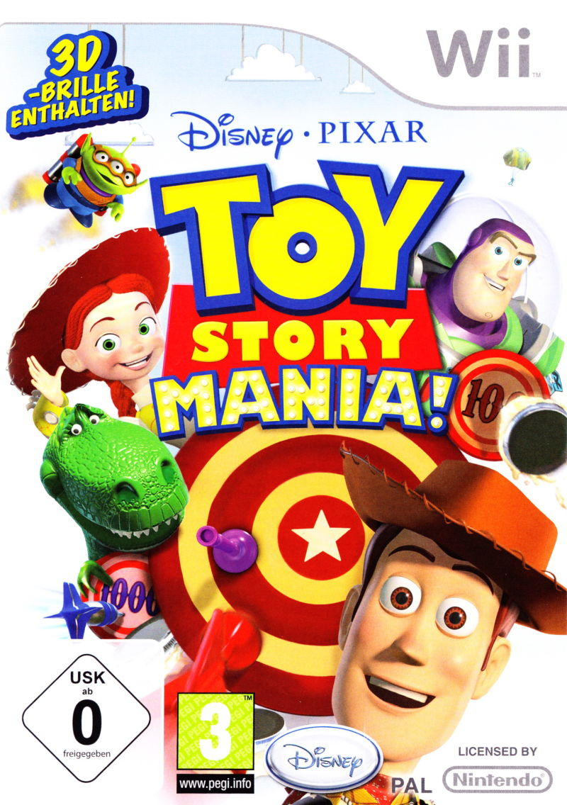 Toy Story Mania! Wii Front Cover