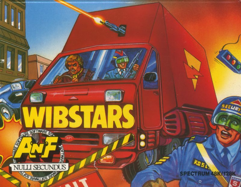 Wibstars ZX Spectrum Front Cover
