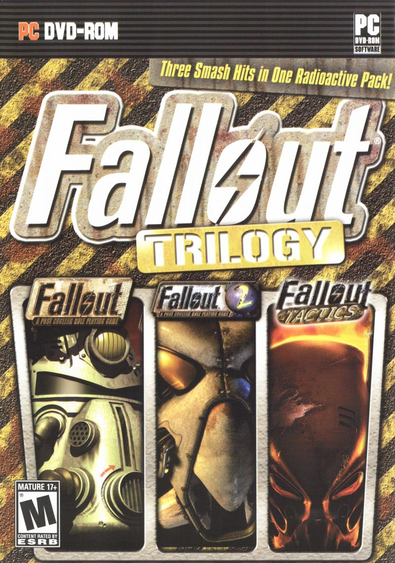 Fallout Trilogy Windows Other Keep Case - Front