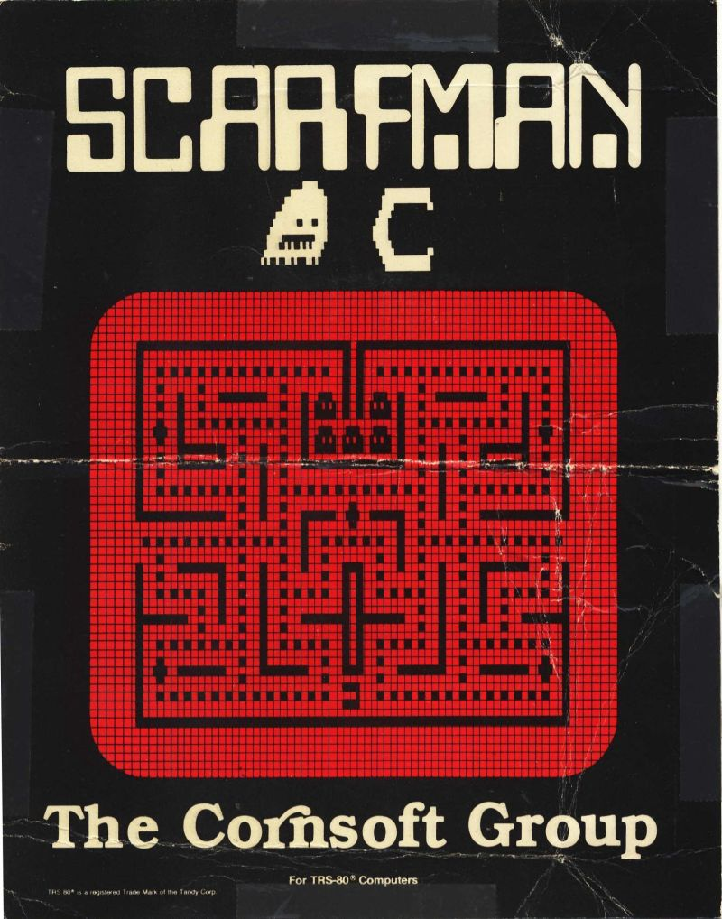 Scarfman TRS-80 Front Cover
