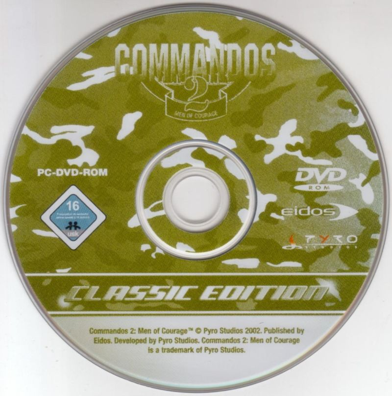 Commandos 2: Men of Courage Windows Media