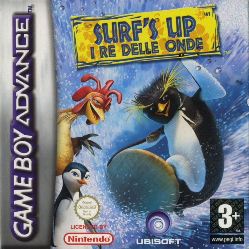 Surf's Up Game Boy Advance Front Cover