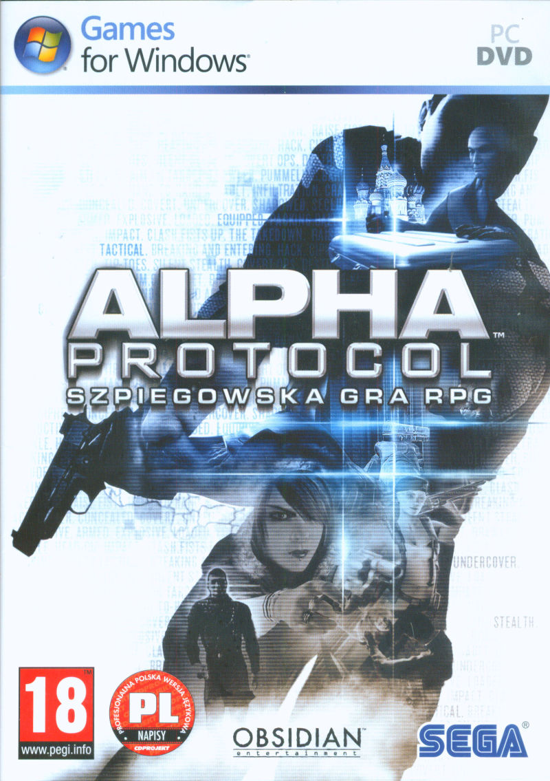 Alpha Protocol Windows Other Keep Case - Front