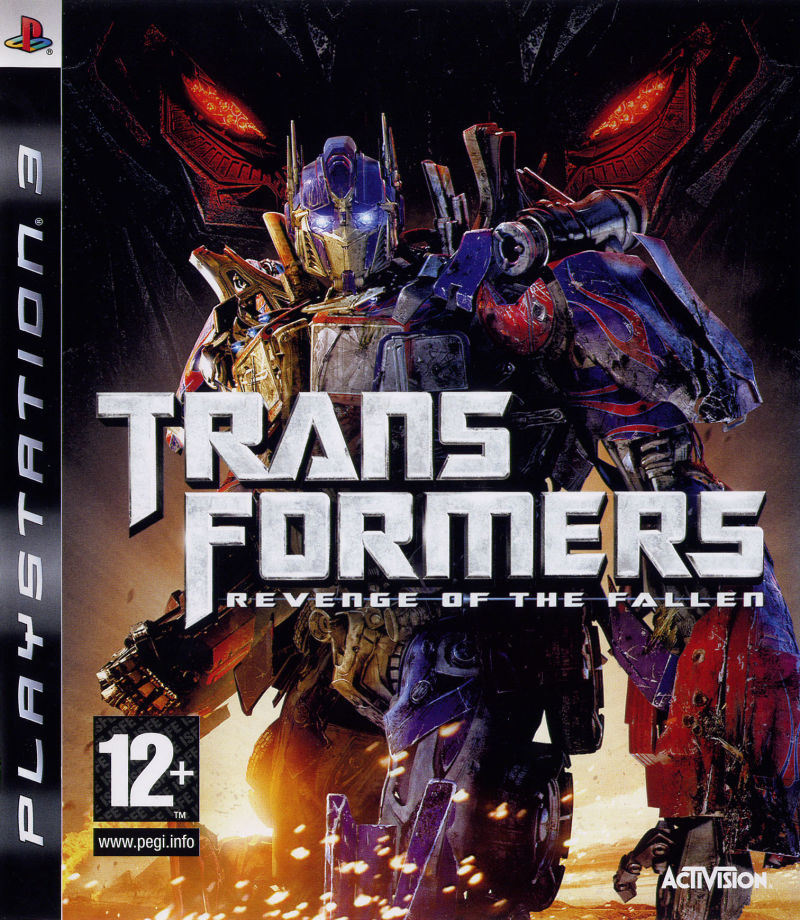 Transformers: Revenge of the Fallen PlayStation 3 Front Cover