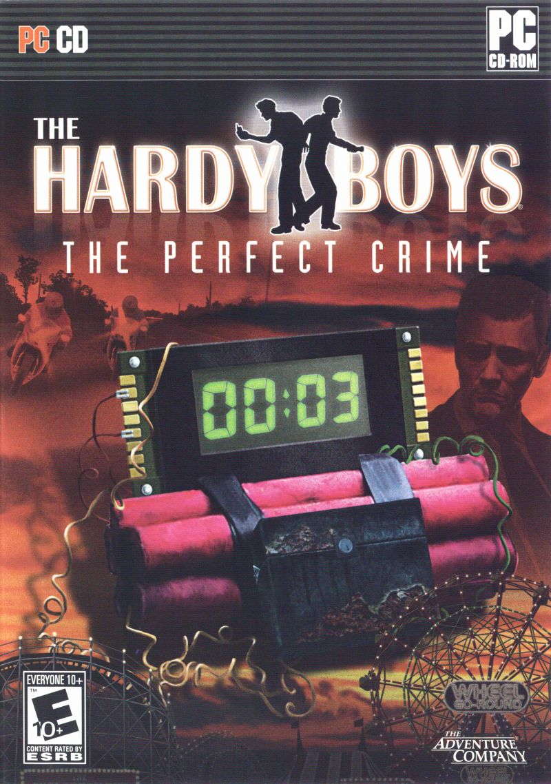 The Hardy Boys: The Perfect Crime Windows Front Cover