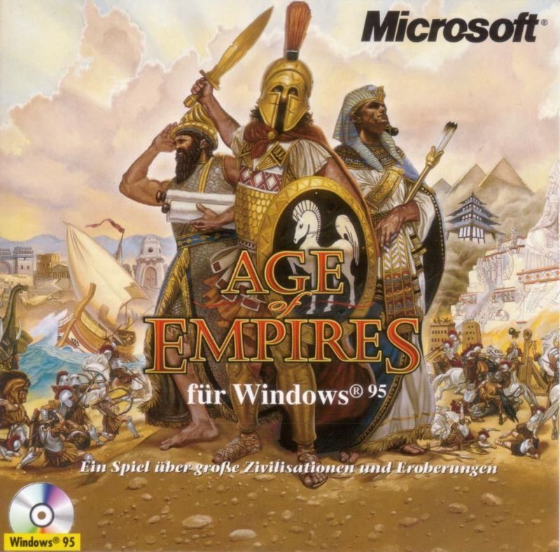 Age of Empires Windows Other Jewel Case - Front