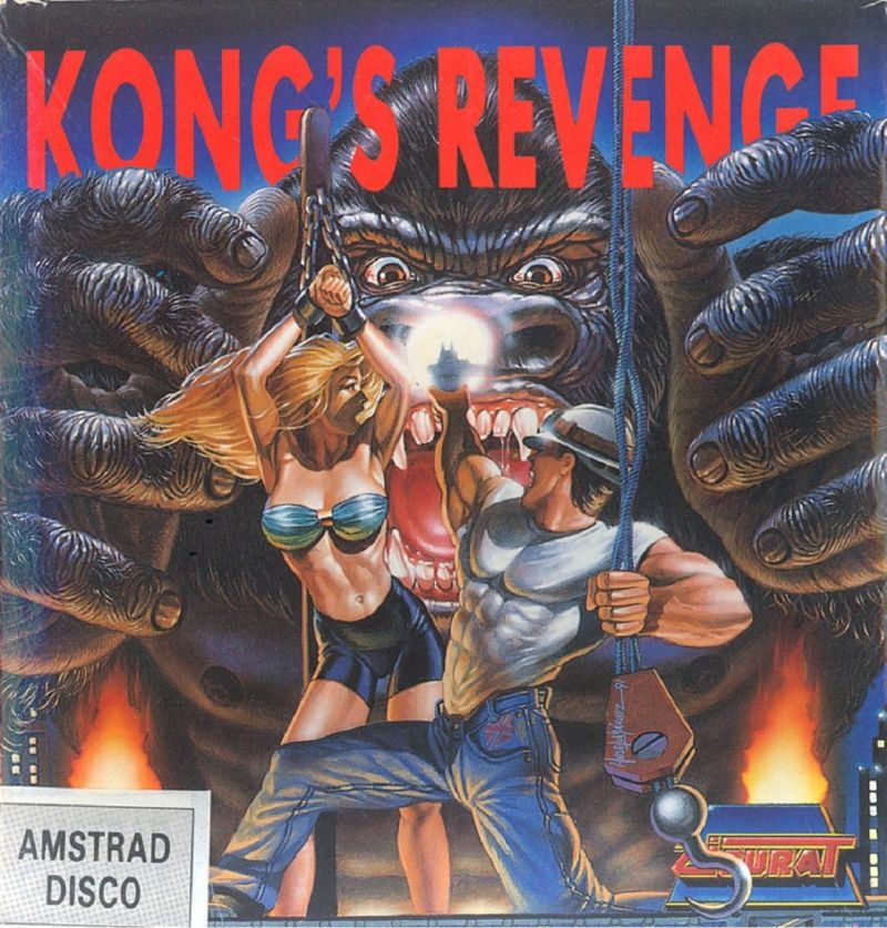 Kong's Revenge Amstrad CPC Front Cover