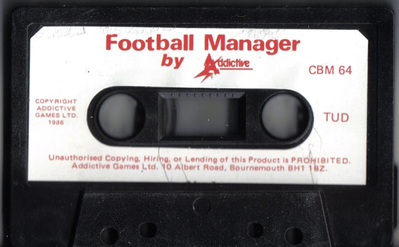 Football Manager Commodore 64 Media