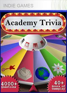 Academy Trivia Xbox 360 Front Cover