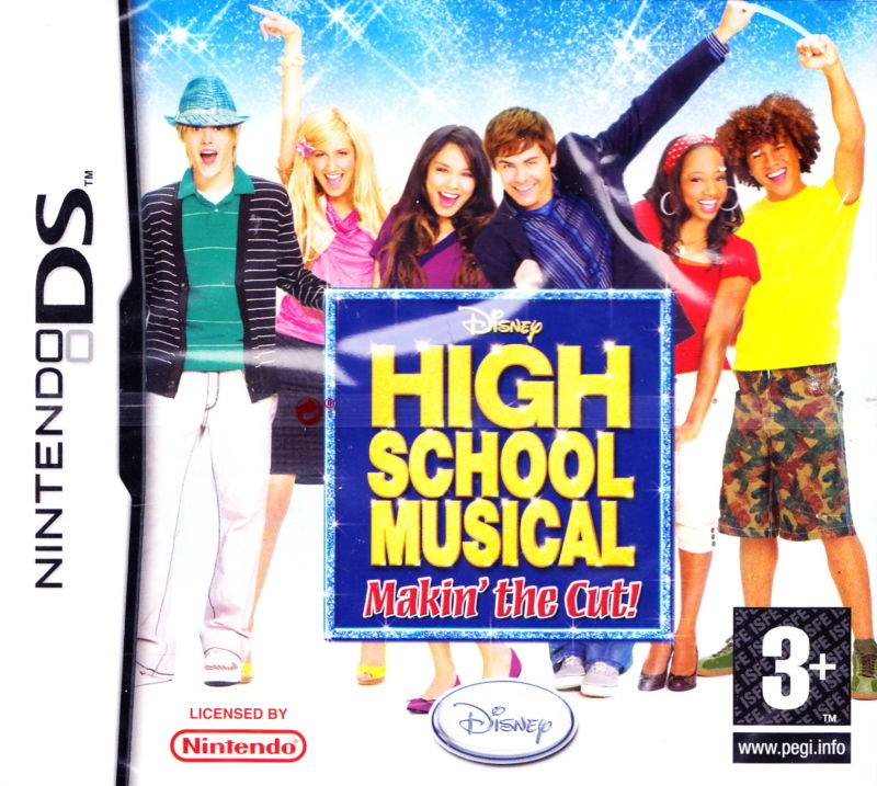 DS Games- High School Musical: Makin The Cut, HSM 3, Naked