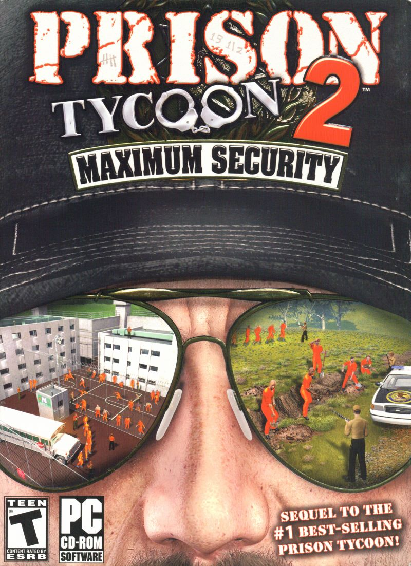 Prison Tycoon 2: Maximum Security Windows Front Cover