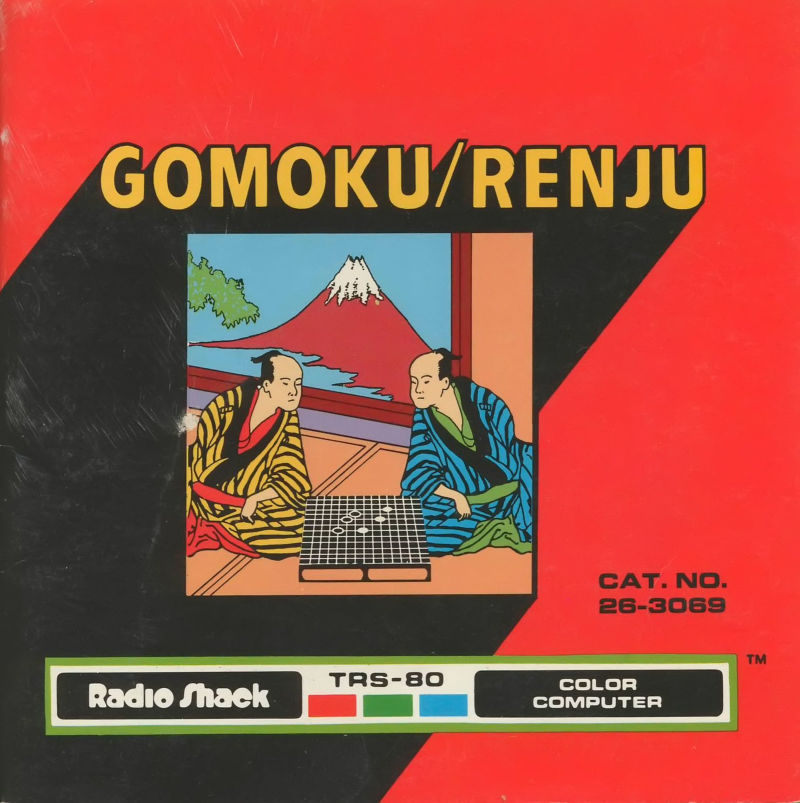 Gomoku / Renju TRS-80 CoCo Front Cover