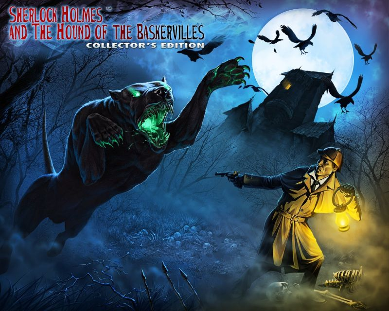 Sherlock Holmes and The Hound of the Baskervilles (Collector's Edition) Windows Front Cover